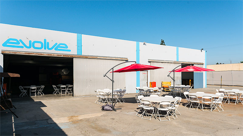 Evolve Project LA Outdoor Space